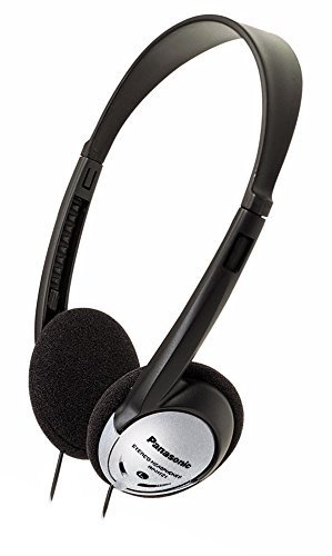 Best Headphones for Bass: 10. Panasonic On-Ear Stereo Headphones RP-HT21