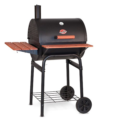 5. Char Griller 2123 Wrangler 635 Square Inch Charcoal Grill/Smoker