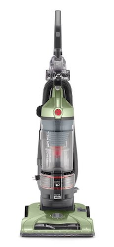 Best Vacuums for Hard Floors: 9. Hoover Vacuum Cleaner WindTunnel T-Series Rewind Plus Bagless Lightweight Corded Upright UH70120
