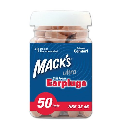 Best Earplugs for sleeping: 2. Mack's Ear Care Ultra Soft Foam Earplugs