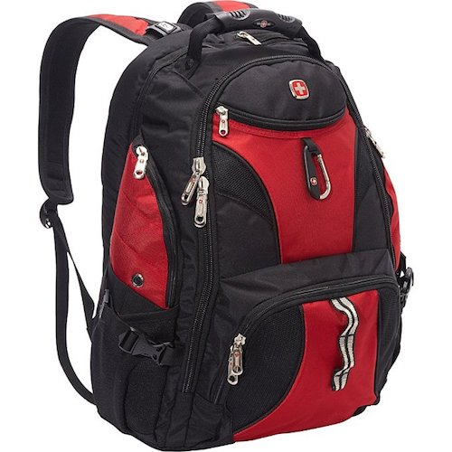 1. SwissGear Travel Gear ScanSmart Backpack