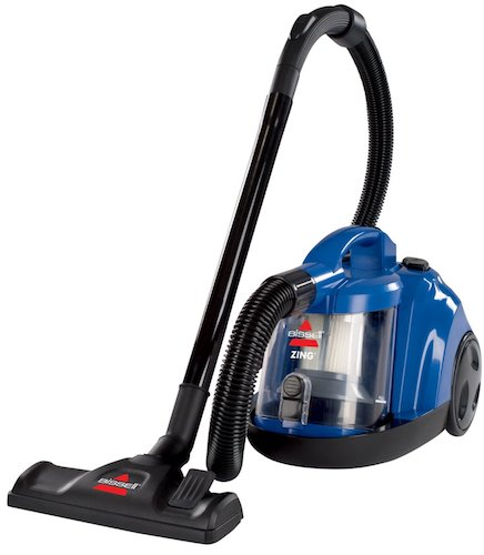 9. Bissell Zing Rewind Bagless Canister Vacuum