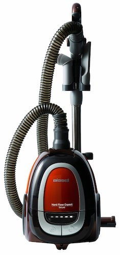 Best Vacuums for Hard Floors: 4. Bissell 1161 Hard Floor Expert Deluxe Canister Vacuum