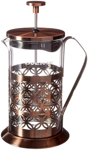 8. Ovente FSF34C 34oz Stainless Steel French Press Coffee Maker