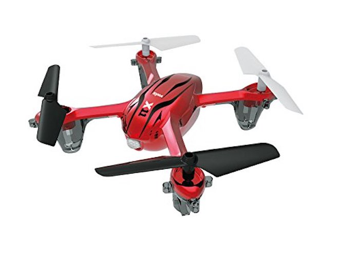 Top 10 Best Nano Drones: 4. Syma X11 R/C Quadcopter - Red