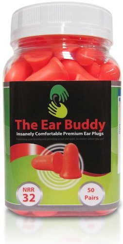 Best Earplugs for sleeping: 8. The Ear Buddy Soft Foam Earplugs