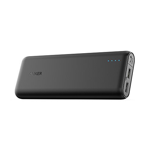 Top 10 Best Portable Charger External Battery PowerBank: 5. Anker PowerCore 20100 - Ultra High Capacity Power Bank