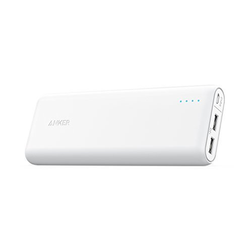 Top 10 Best Portable Charger External Battery PowerBank: 6. Anker PowerCore 20100 - 20000mAh Ultra High Capacity Power Bank
