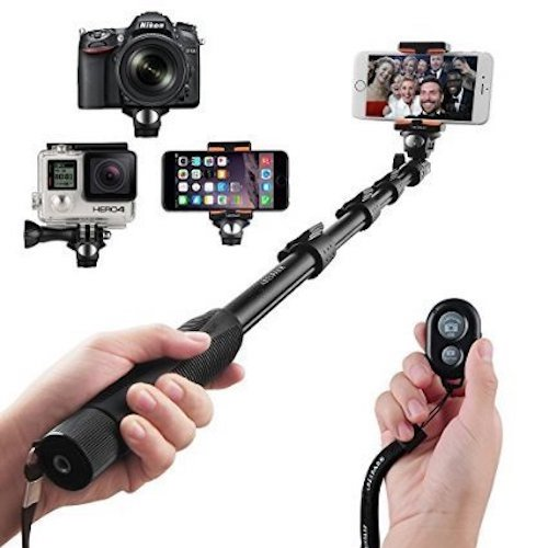 Best Selfie Stick for iPhone, Samsung, GoPro