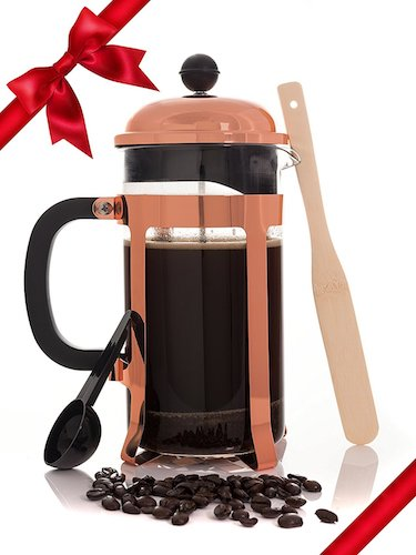5. Copper French Coffee Press and Tea Infuser