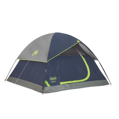 3. Sundome 2 Person Tent: the Green and Navy color options
