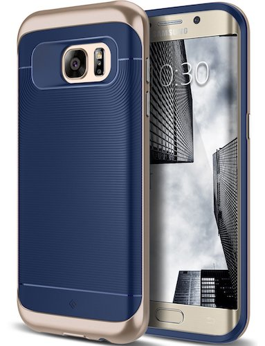 Top 10 Best Samsung Galaxy S7 Edge Cases: 2. Galaxy S7 Edge Case, Navy Blue