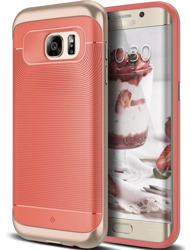 Top 10 Best Samsung Galaxy S7 Edge Cases: 6. Galaxy S7 Edge Case, Coral Pink