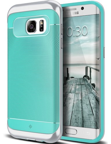 Top 10 Best Samsung Galaxy S7 Edge Cases: 5. Galaxy S7 Edge Case, Mint Green