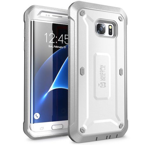 Top 10 Best Samsung Galaxy S7 Edge Cases: 3. Galaxy S7 Edge Case, SUPCASE Full-body Rugged Holster
