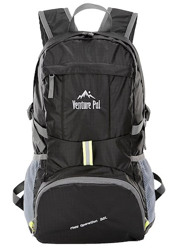 4. Venture Pal Lightweight Packable Durable Travel Hiking Backpack