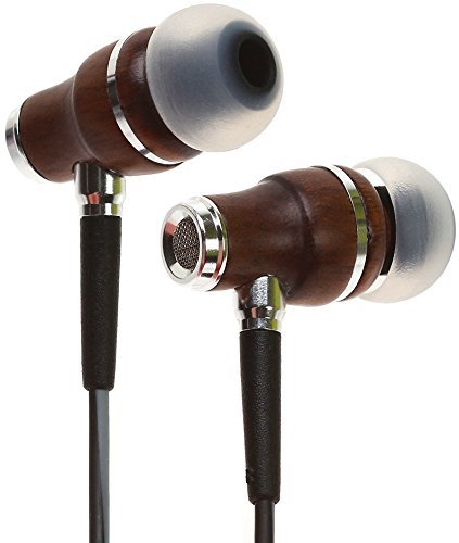 Best Earbuds under 50: 3. Symphonized NRG 3.0 Premium Wood In-ear Noise-isolating Headphones