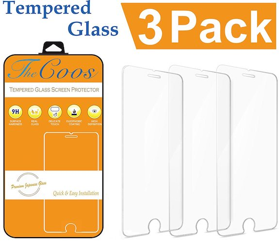 2. iPhone 7 6S 6 Screen Protector, TheCoos iPhone 6 6S 7