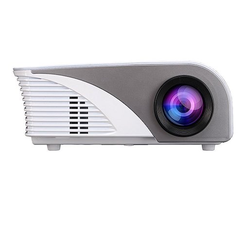 Best Projectors under 500: 4. Projector (Warranty Included) Xinda LCD 1200 Lumens