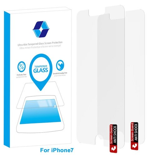 9. For iPhone 7, JR-Glass Anti-Scratch Tempered Glass Screen Protector