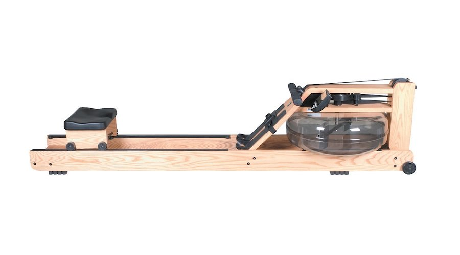 1. WaterRower Natural Rowing Machine in Ash Wood with S4 Monitor