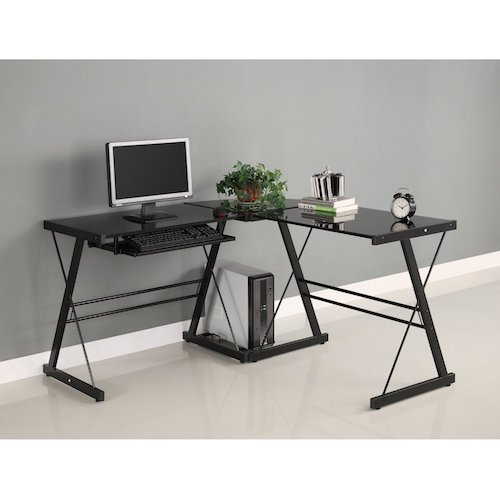 Best Gaming Computer Desks: 1. Walker Edison Soreno 3-Piece Corner Desk