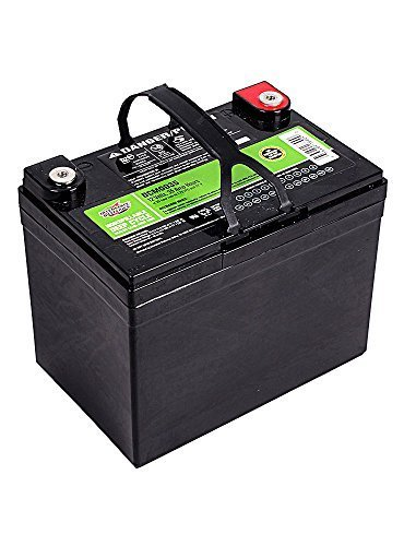 8. Sealed Lead Acid (AGM) Deep Cycle Battery - DCM0035 replacement battery