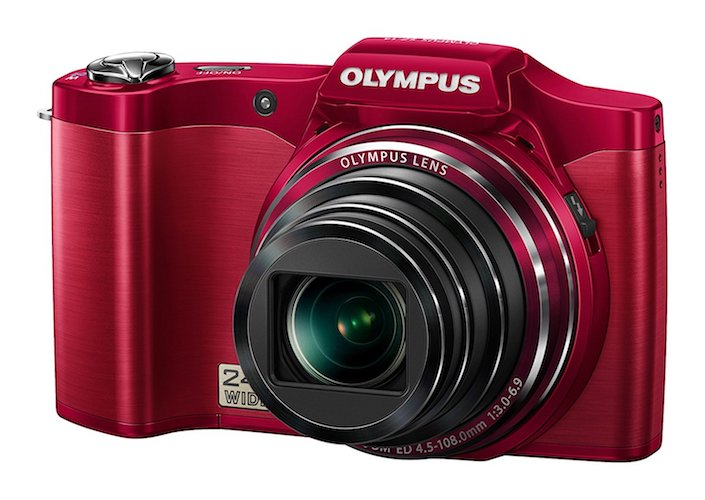 10. Olympus SZ-14 Red Digital Camera - International Version