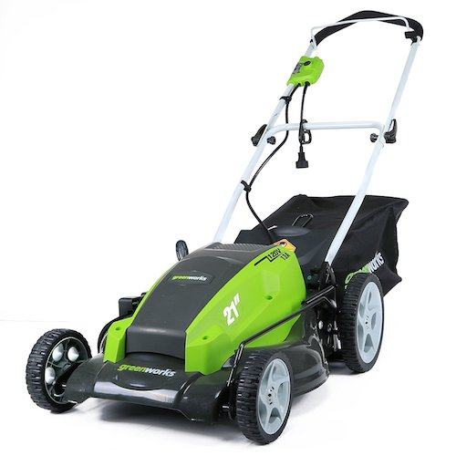 8. GreenWorks 25112 13 Amp 21-Inch Corded Lawn Mower