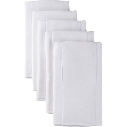 9. Gerber 5 Count Heavyweight Gauze Prefold Cloth Diaper