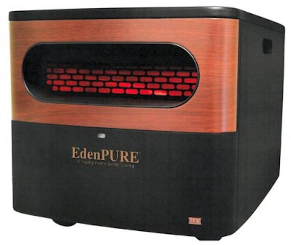 9. EdenPURE A5095 Gen2 Pure Infrared Heater