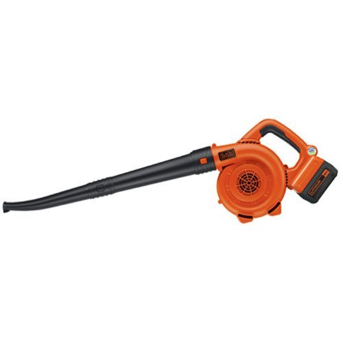 Best Cordless Leaf Blower: 3. BLACK+DECKER LSW36 40V Lithium Ion Cordless Sweeper