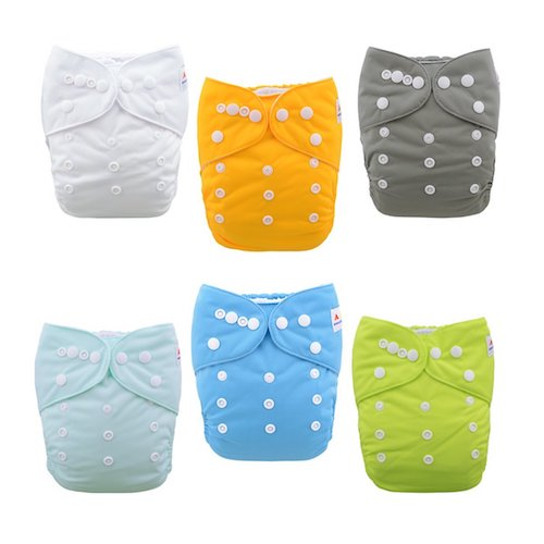 4. Alvababy Baby Cloth Diapers