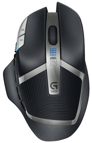 Best Gaming Mouse: 1. Logitech G602 Gaming Wireless Mouse