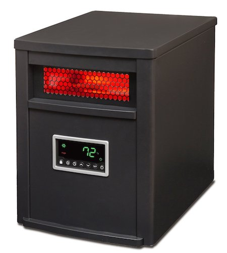 2. Lifesmart Large Room 6 Element Infrared Heater