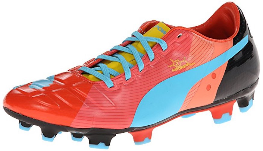 6.) PUMA Men's evoPOWER 4.2 Graphic Firm Ground Soccer Cleat