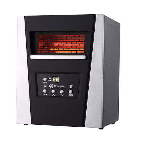 4. Homegear Pro 1500w Large Room Infrared Space