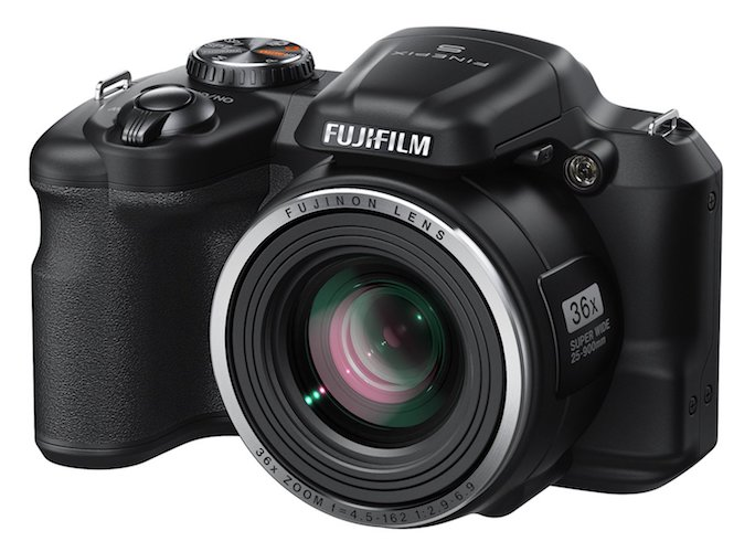 5. Fujifilm FinePix S8600 16 MP Digital Camera with 3.0-Inch LCD (Black)