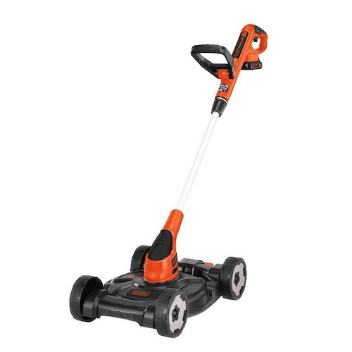 3. BLACK+DECKER MTC220 20V Lithium-Ion 3-in-1 Mower