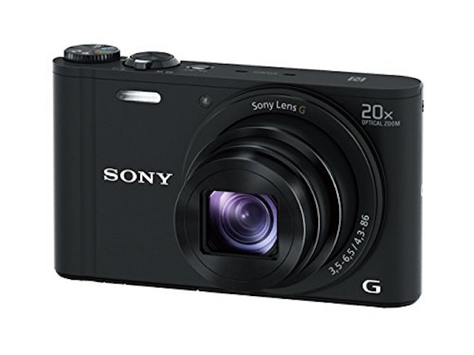 10: Sony DSCWX350 18 MP Digital Camera (Black)