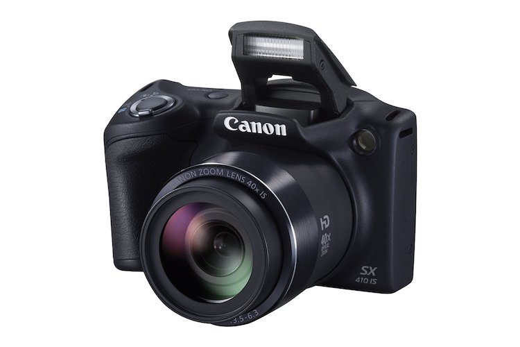 6: Canon PowerShot SX410 IS (Black)