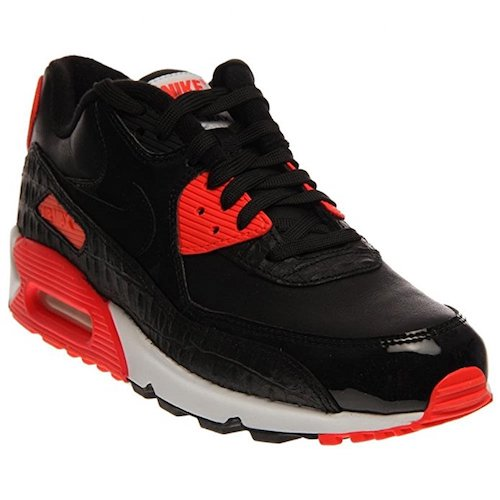10. NIKE AIR MAX 90 ROUND TOE LEATHER BASKETBALL SHOE