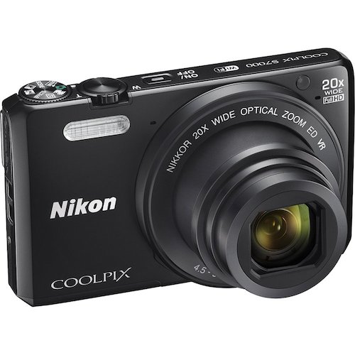 8. Nikon Coolpix S7000 Wi-Fi Digital Camera (Certified Refurbished)