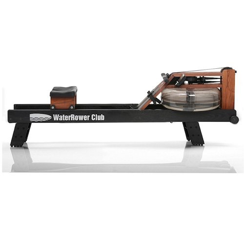 3. WaterRower Club Rowing Machine w/ S4 Monitor & Hi Rise Attachment