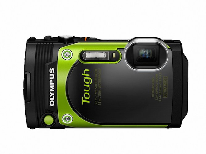 8: Olympus TG-870 Tough Waterproof Digital Camera (Green)