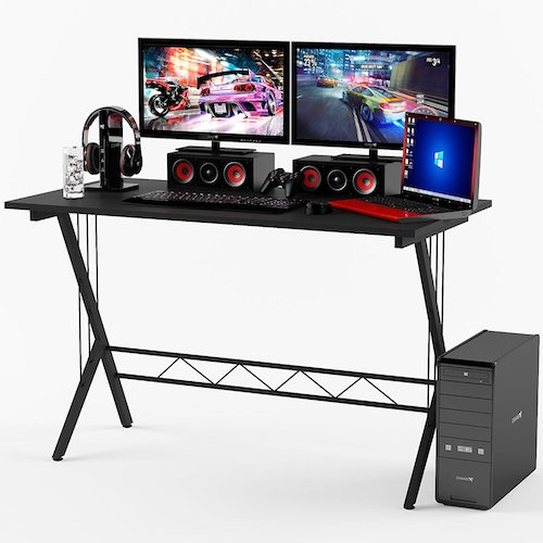 Best Home Office Desks: 3. Gaming Desk Table Durable Workstation