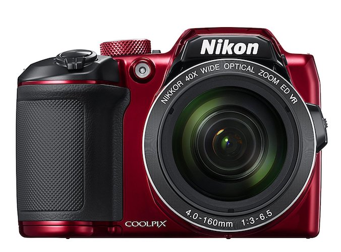 3: Nikon COOLPIX B500 Digital Camera (Red)