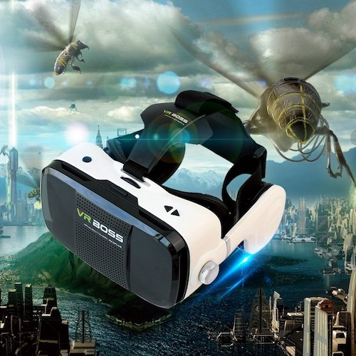 3. 3D VR GOGGLE Headset