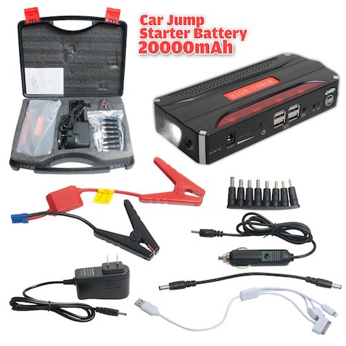 4. UXCELL 600A Peak Current Portable Car Jump Starter
