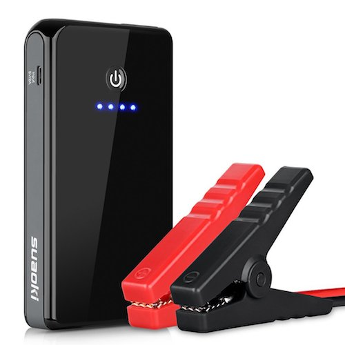 6. SUAOKI K12 8000mAh 300A Peak Jump Starter Power Bank